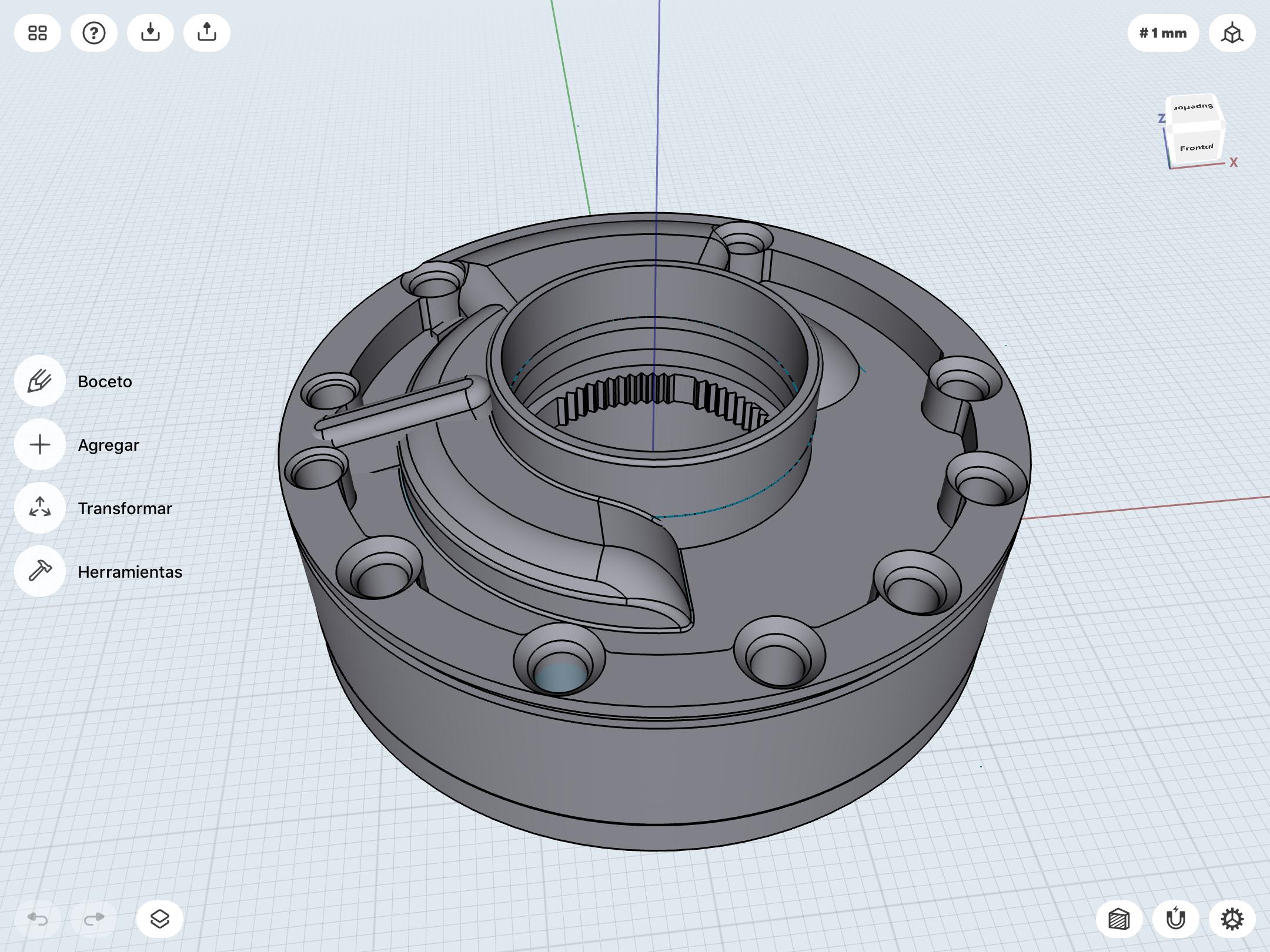IMG_0015.PNG Télécharger fichier STL gratuit PORTE-CLÉS ZF POMPE DE TRANSMISSION • Plan pour imprimante 3D, brandcorvar