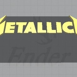 Download free STL file Metal • Object to 3D print, brandcorvar