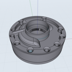 Download free STL file KEY RING ZF TRANSMISSION PUMP • 3D print design, brandcorvar