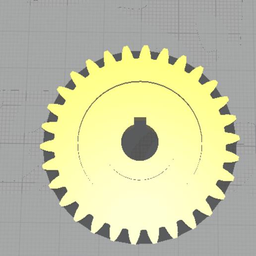 Télécharger fichier impression 3D gratuit Roue dentée, brandcorvar
