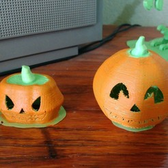 3D print files Halloween Pumpkins! Set x 3, _aalejandrovr24