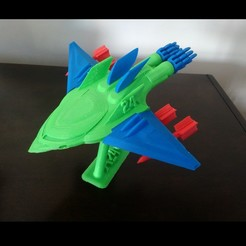 Download free 3D printer templates Jet Fighter! with Balance Pedestal, _aalejandrovr24