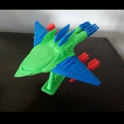 IMG_20190222_162318.jpg Download free STL file Jet Fighter! with Balance Pedestal • 3D print design, _aalejandrovr24