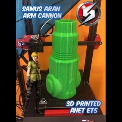 Cover.jpg Télécharger fichier STL gratuit Canon à bras de Samus Aran, Metroid • Objet imprimable en 3D, _aalejandrovr24