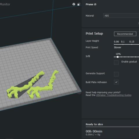 1.png Download free STL file Dinosaur Skel for 3D Printer! - Terry the Dinosaur! • 3D printer model, _aalejandrovr24