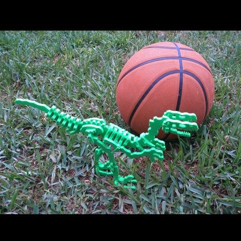 IMG_20180924_134004.jpg Download free STL file Dinosaur Skel for 3D Printer! - Terry the Dinosaur! • 3D printer model, _aalejandrovr24