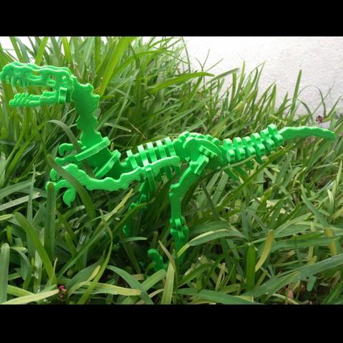 IMG_20180924_132723.jpg Download free STL file Dinosaur Skel for 3D Printer! - Terry the Dinosaur! • 3D printer model, _aalejandrovr24