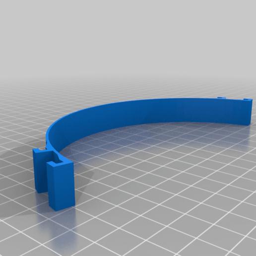 SUJECION_MASCARILLA_DOBLE_AGARRE_150MM.png Télécharger fichier STL gratuit Porte-masque simple et double courbe + Boucle d'oreille (pour sauver les oreilles) • Objet pour imprimante 3D, celtarra12