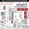 Dual_Extrude_for_A8.png Télécharger fichier STL gratuit Caja placa Zonestar ZRIB para Anet A8 / AM8 (Extrusor Dual multicolor) • Design pour impression 3D, celtarra12