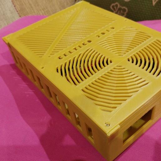 20190319_013322_Burst02.jpg Télécharger fichier STL gratuit Caja placa Zonestar ZRIB para Anet A8 / AM8 (Extrusor Dual multicolor) • Design pour impression 3D, celtarra12