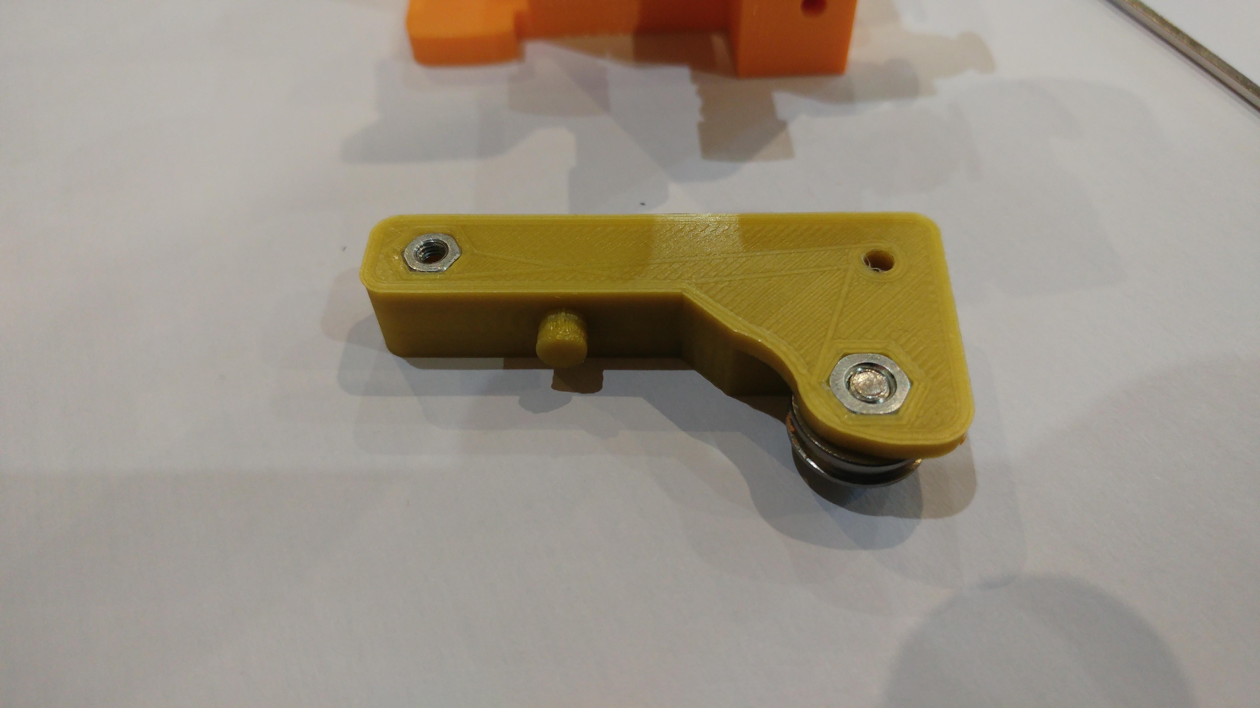 20190118_161712.jpg Télécharger fichier STL gratuit Doble Extrusor para montaje en Bowden con un sólo motor • Objet imprimable en 3D, celtarra12