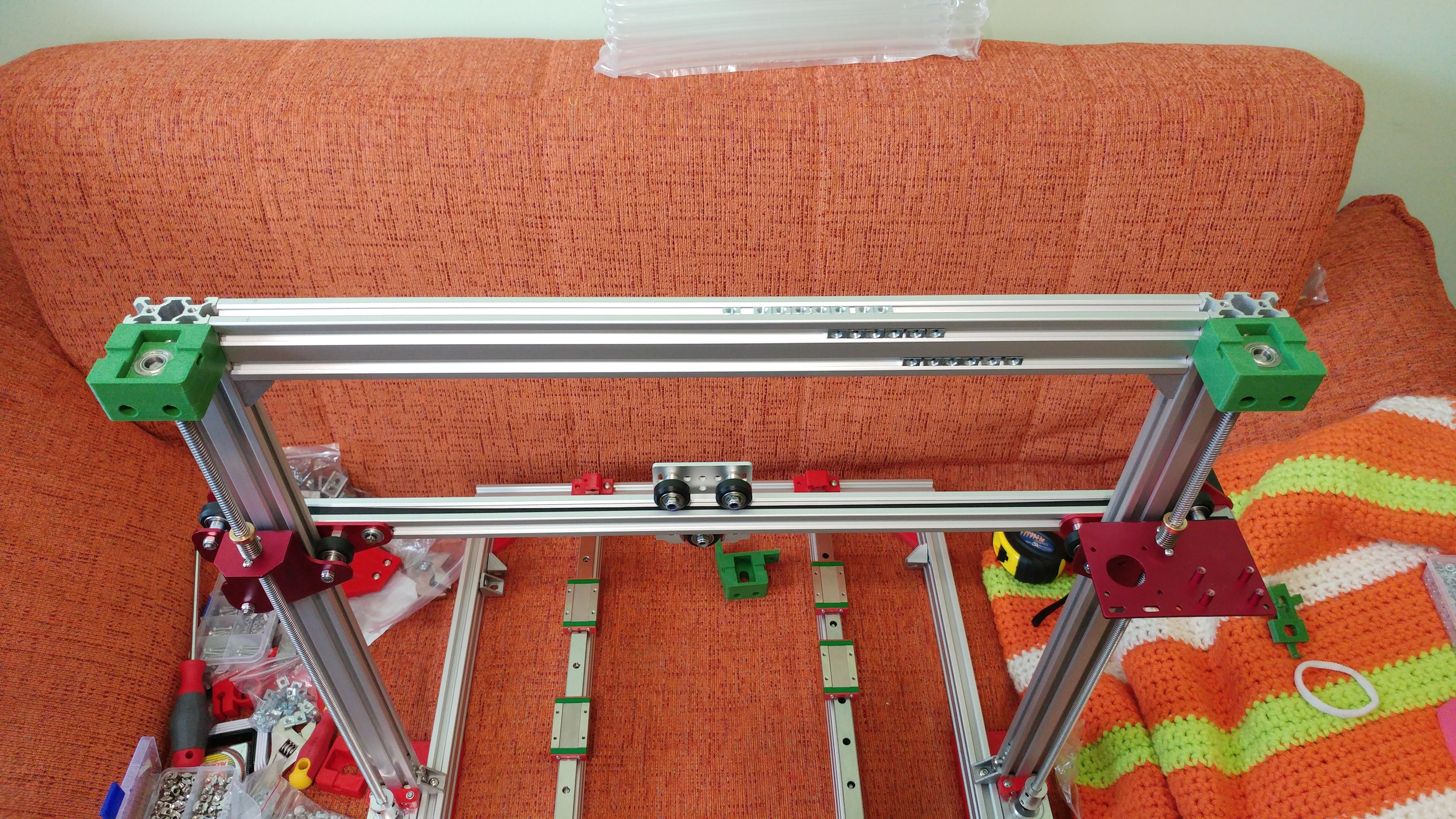 20190629_150504.jpg Télécharger fichier STL gratuit Parte Superior Husillo eje Z con muelle para perfil de aluminio 2040 • Plan imprimable en 3D, celtarra12