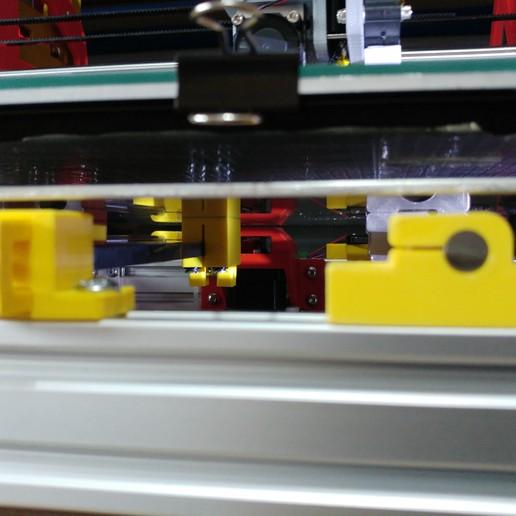 20190624_195336.jpg Télécharger fichier STL gratuit SOPORTE VARILLAS, TENSOR CORREA, ANCLAJE CORREA EJE Y, SOPORTE LCD ANET AM8 EN CAMA DE 300X300 • Design pour imprimante 3D, celtarra12