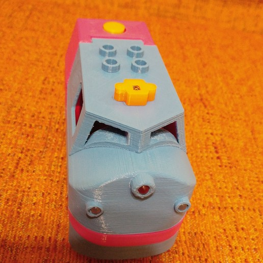 20181222_211018.jpg Télécharger fichier STL gratuit Tren Lego Duplo Motorizado controlado por Infrarojos • Objet à imprimer en 3D, celtarra12