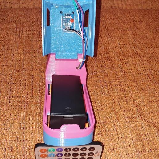 20181222_211140.jpg Télécharger fichier STL gratuit Tren Lego Duplo Motorizado controlado por Infrarojos • Objet à imprimer en 3D, celtarra12