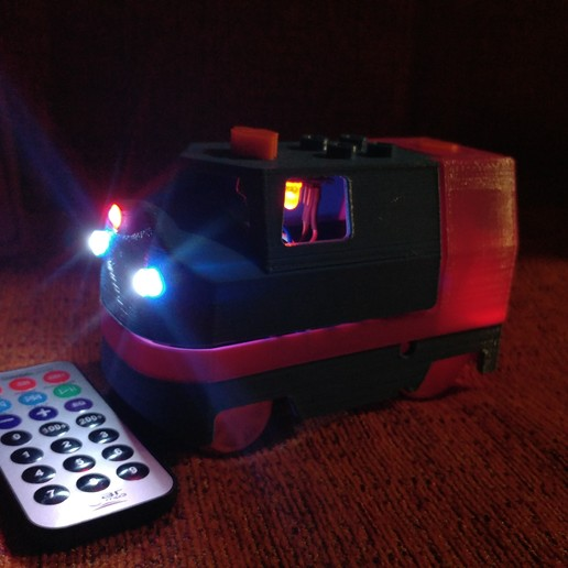 20181222_211444.jpg Télécharger fichier STL gratuit Tren Lego Duplo Motorizado controlado por Infrarojos • Objet à imprimer en 3D, celtarra12