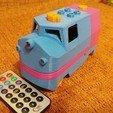 20181222_211318.jpg Télécharger fichier STL gratuit Tren Lego Duplo Motorizado controlado por Infrarojos • Objet à imprimer en 3D, celtarra12