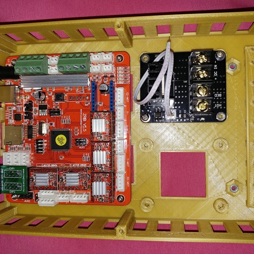 20190319_013026.jpg Télécharger fichier STL gratuit Caja placa Zonestar ZRIB para Anet A8 / AM8 (Extrusor Dual multicolor) • Design pour impression 3D, celtarra12