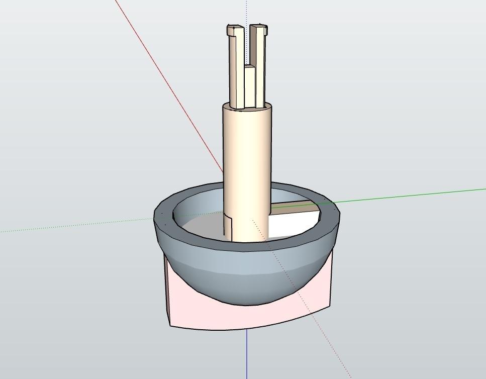mando.jpg Télécharger fichier STL gratuit Sélecteur, Mando Calefacción • Objet pour imprimante 3D, celtarra12