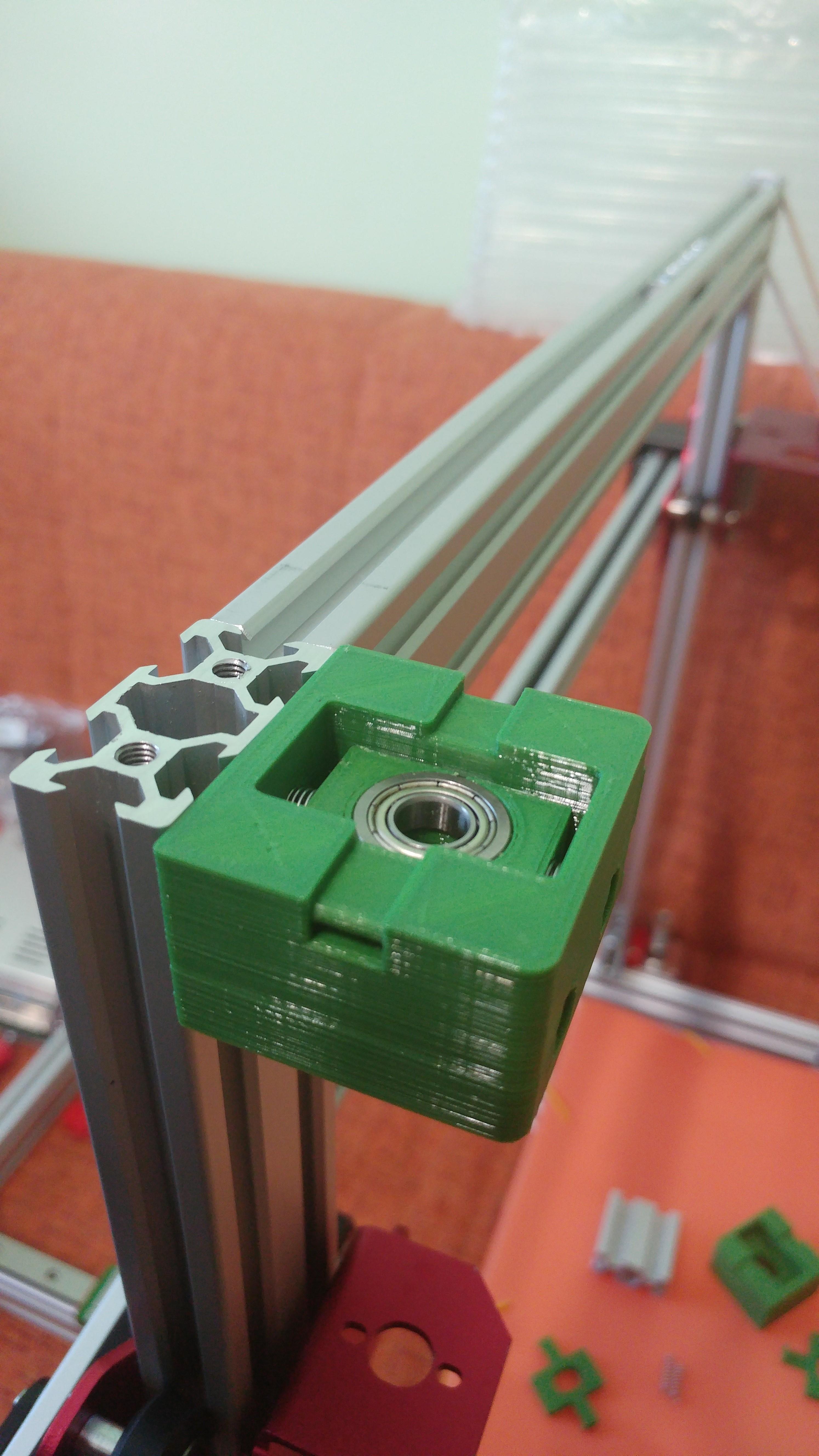 20190628_103740.jpg Télécharger fichier STL gratuit Parte Superior Husillo eje Z con muelle para perfil de aluminio 2040 • Plan imprimable en 3D, celtarra12