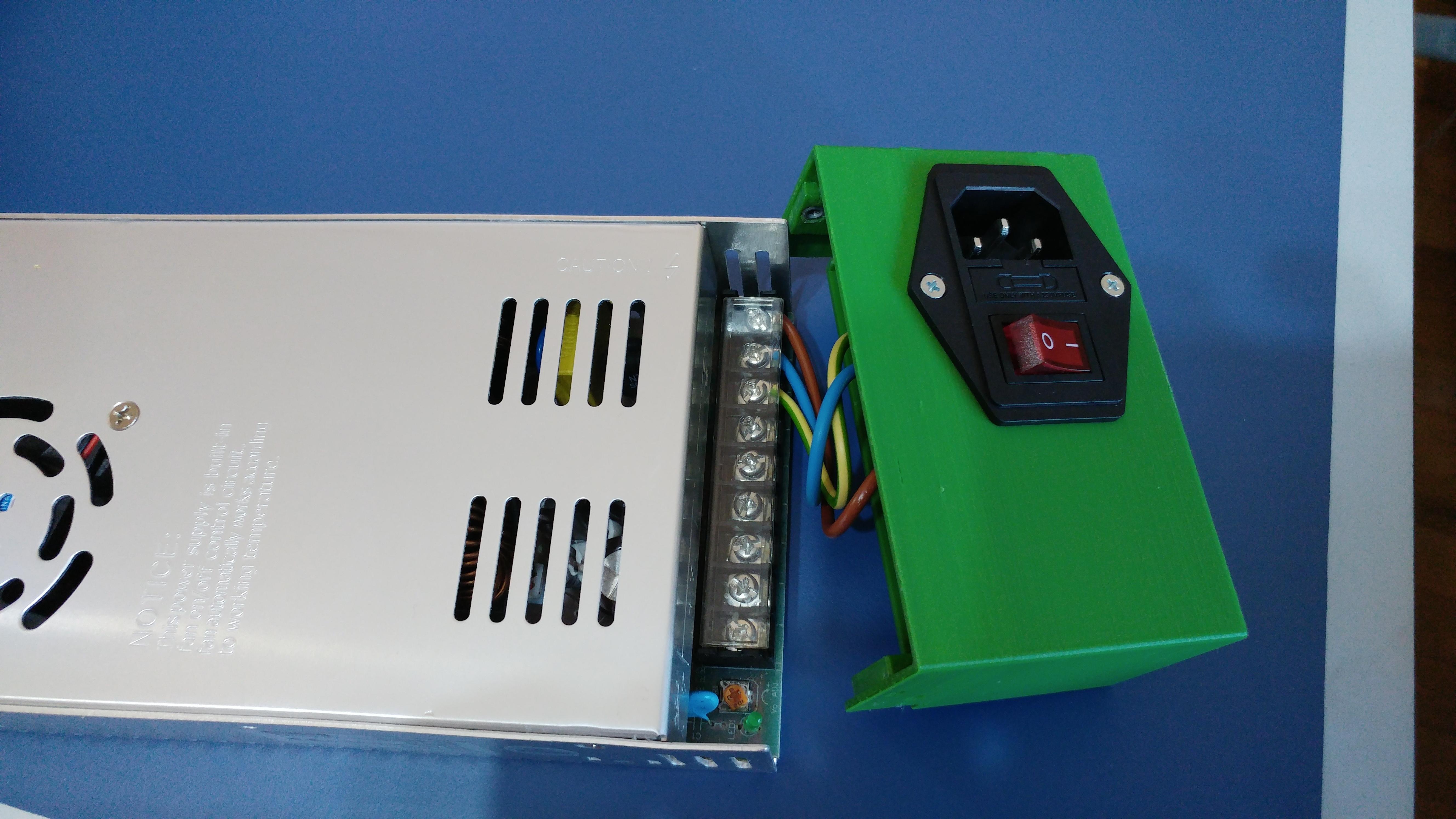 20190816_124551.jpg Télécharger fichier STL gratuit Carcasa Fuente de Alimentación con interruptor de encendido • Plan pour imprimante 3D, celtarra12