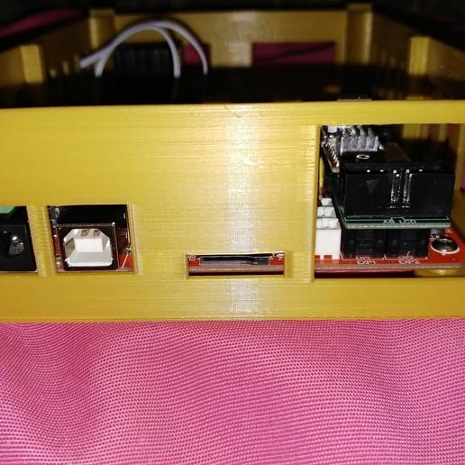 20190319_013114.jpg Télécharger fichier STL gratuit Caja placa Zonestar ZRIB para Anet A8 / AM8 (Extrusor Dual multicolor) • Design pour impression 3D, celtarra12
