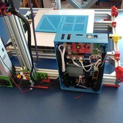 Télécharger modèle 3D gratuit Caja XXL para placa Zonestar ZRIB para montar 3 Mosfet, celtarra12
