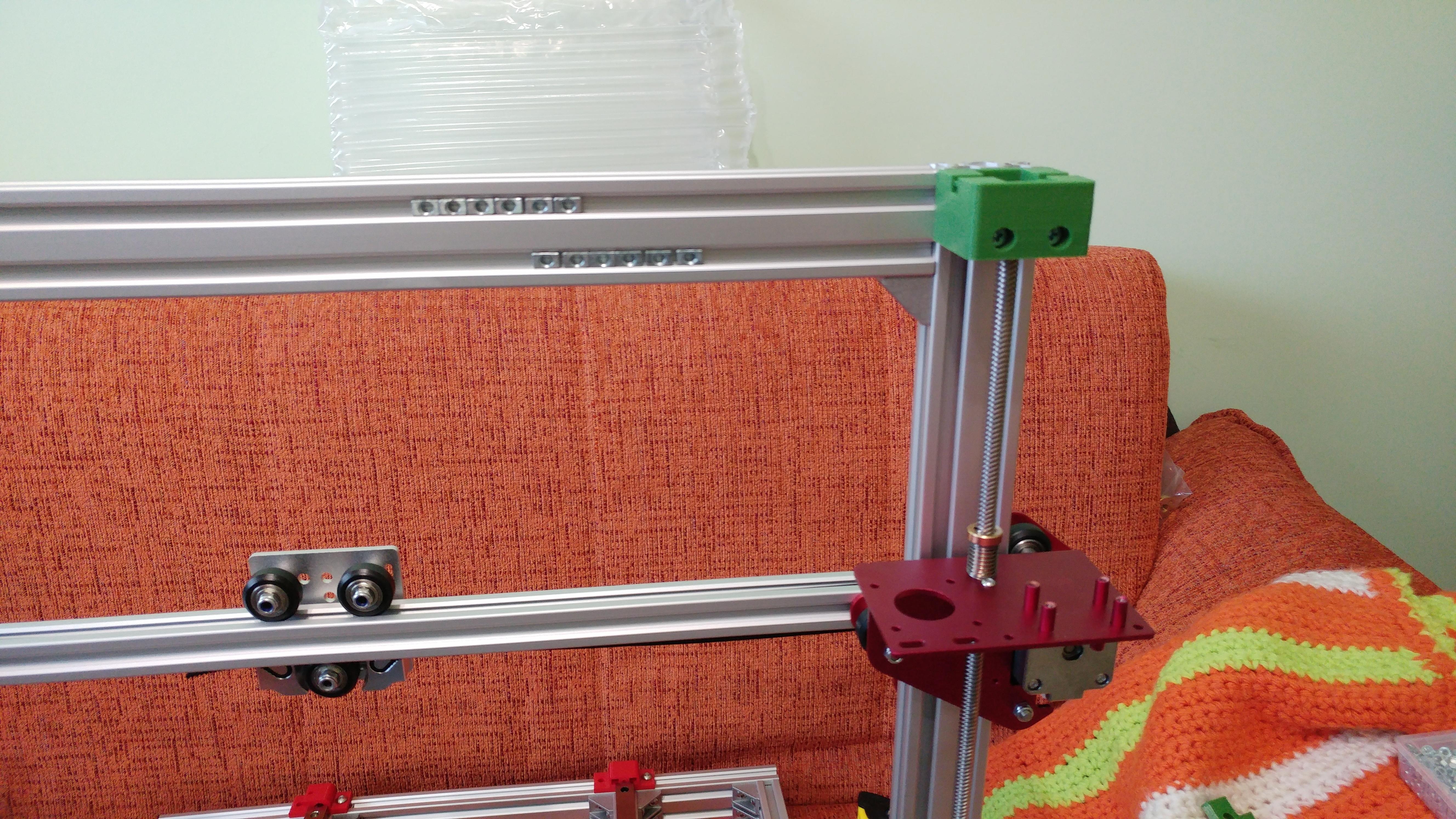20190629_150508.jpg Télécharger fichier STL gratuit Parte Superior Husillo eje Z con muelle para perfil de aluminio 2040 • Plan imprimable en 3D, celtarra12