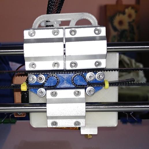 trasera.jpg Télécharger fichier STL gratuit Support moteur pour extrudeuse directe BMG pour Anet A8 /AM8 • Objet à imprimer en 3D, celtarra12