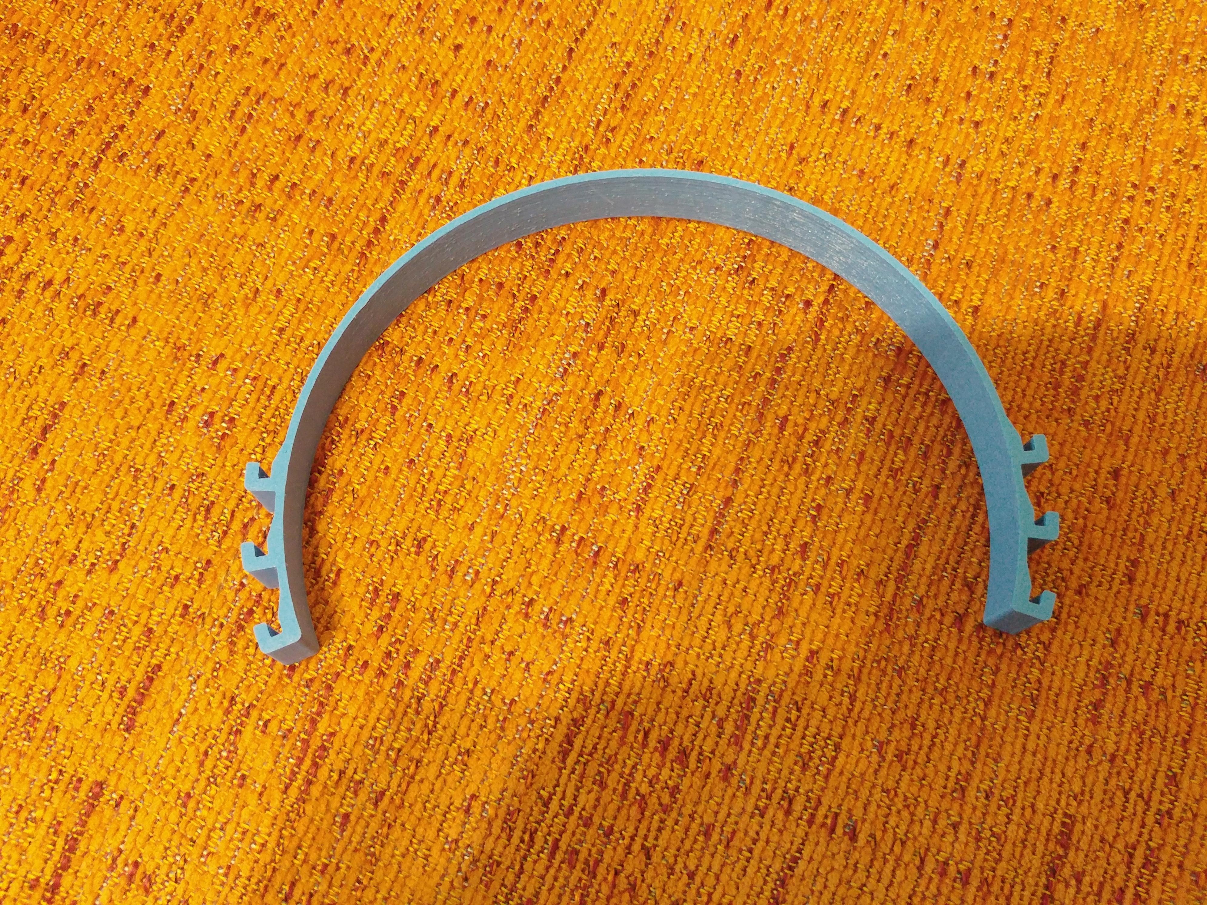 20200621_210913_HDR.jpg Télécharger fichier STL gratuit Porte-masque simple et double courbe + Boucle d'oreille (pour sauver les oreilles) • Objet pour imprimante 3D, celtarra12