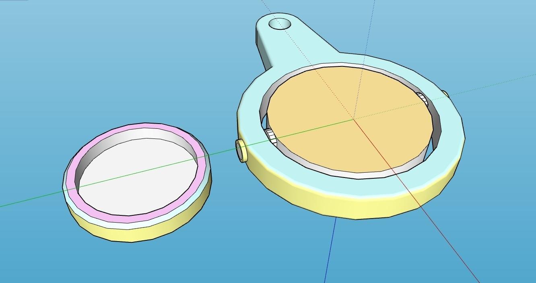 LLAVERO_SMILE_2.jpg Télécharger fichier STL gratuit LLAVERO GIRATORIO SONRISA • Design pour impression 3D, celtarra12