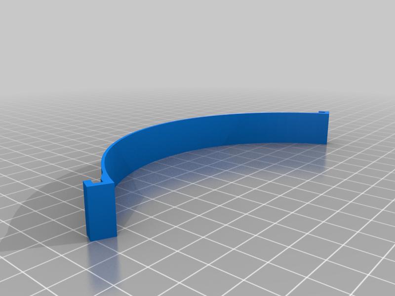 SUJECION_MASCARILLA_SIMPLE_AGARRE_140MM.png Télécharger fichier STL gratuit Porte-masque simple et double courbe + Boucle d'oreille (pour sauver les oreilles) • Objet pour imprimante 3D, celtarra12