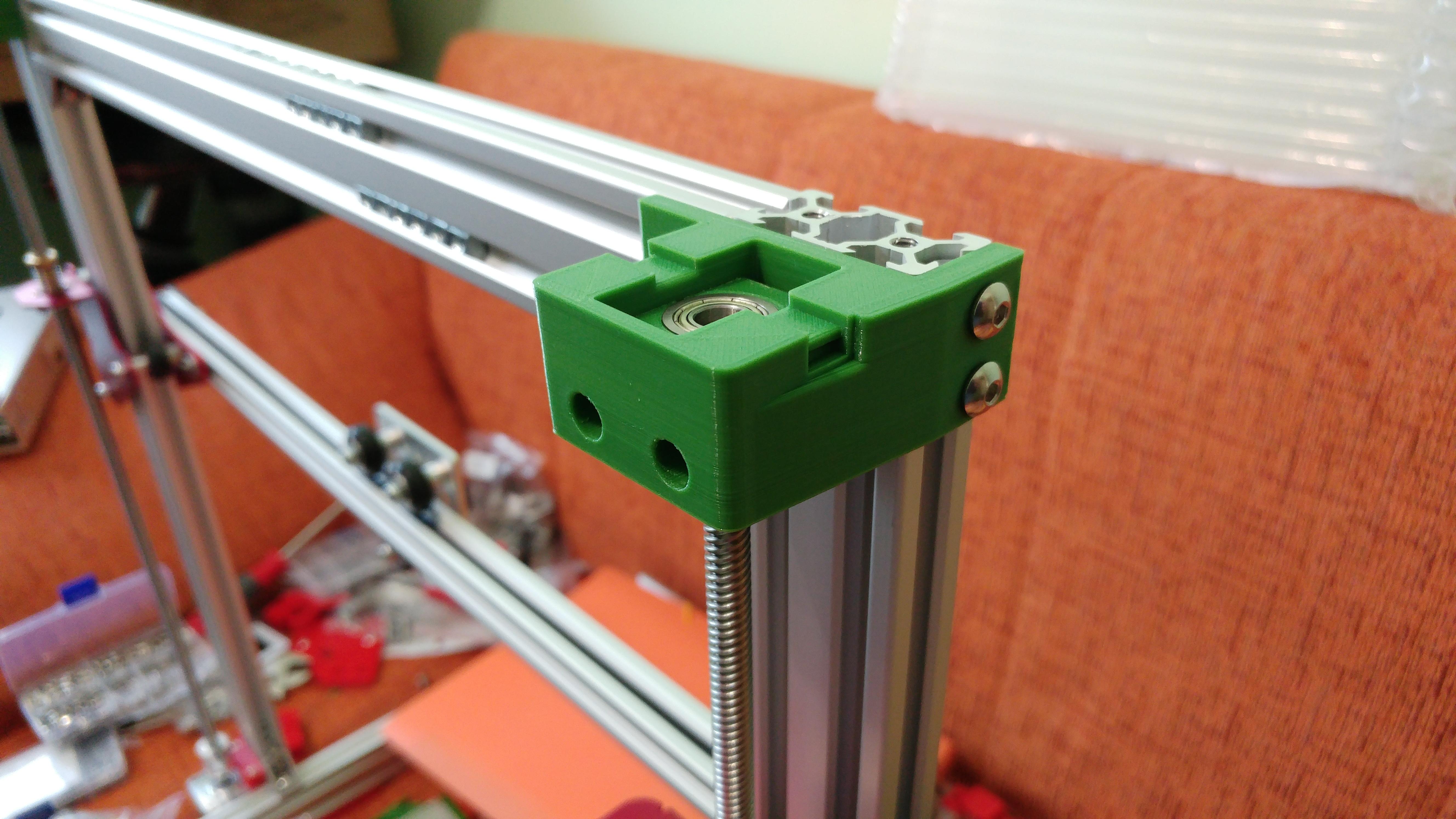 20190629_151603.jpg Télécharger fichier STL gratuit Parte Superior Husillo eje Z con muelle para perfil de aluminio 2040 • Plan imprimable en 3D, celtarra12