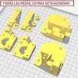 Todas_las_piezas.jpg Télécharger fichier STL gratuit Doble Extrusor para montaje en Bowden con un sólo motor • Objet imprimable en 3D, celtarra12