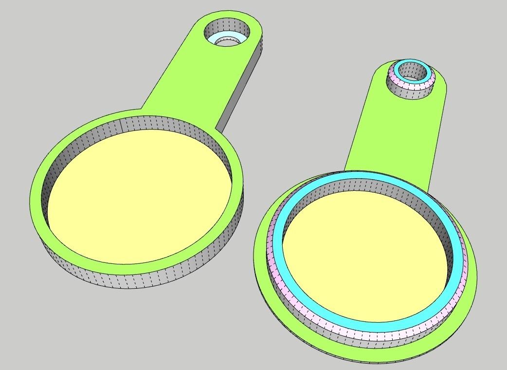 LLAVERO_CELTA.jpg Télécharger fichier STL gratuit LLAVERO CELTA DE VIGO, REAL MADRID, BARCELONA, ATLETICO DE MADRID Y TORTUGA (NFC) • Modèle imprimable en 3D, celtarra12