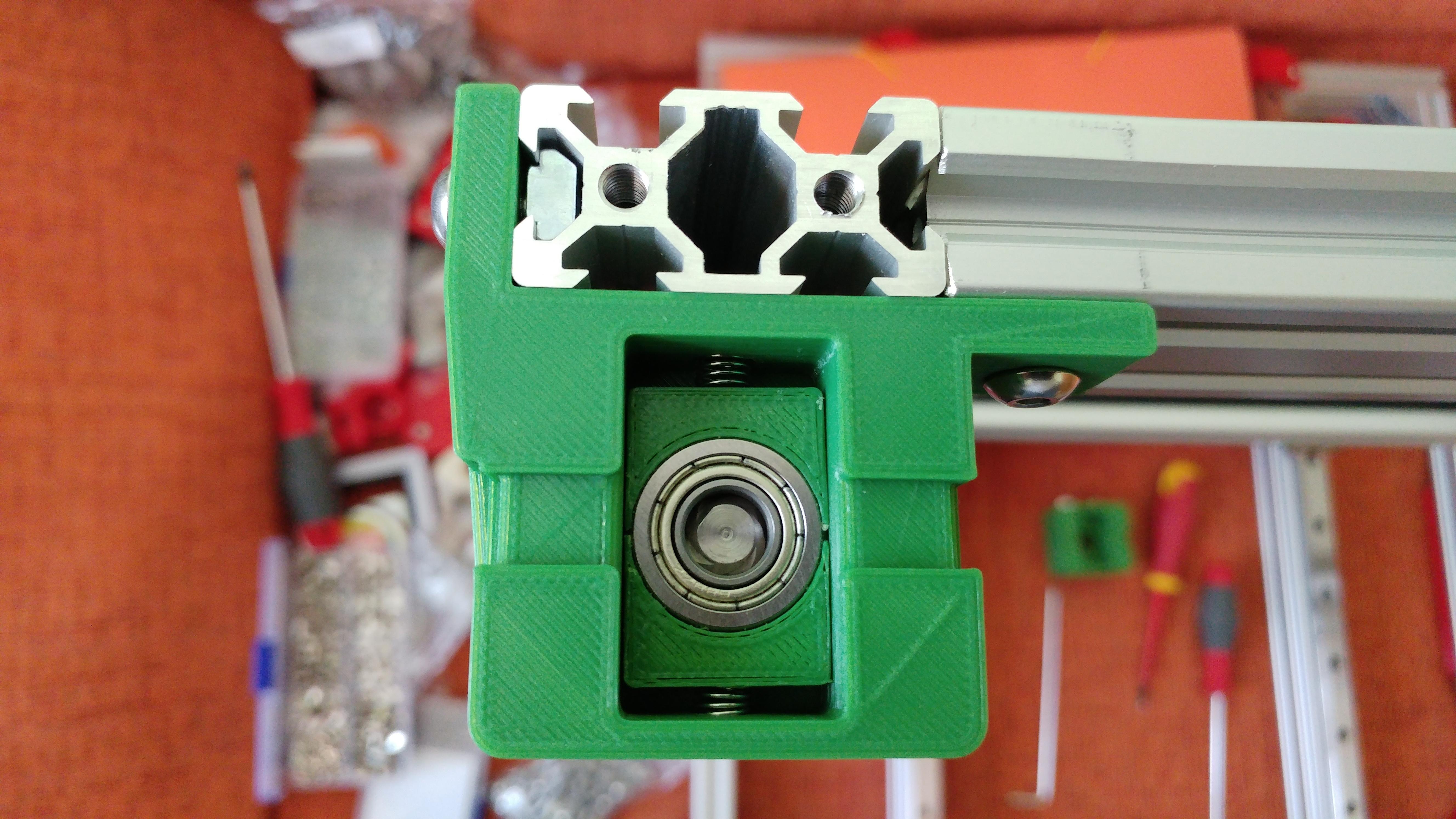 20190629_152239.jpg Télécharger fichier STL gratuit Parte Superior Husillo eje Z con muelle para perfil de aluminio 2040 • Plan imprimable en 3D, celtarra12