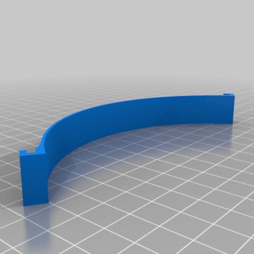 SUJECION_MASCARILLA_SIMPLE_AGARRE_130MM.png Télécharger fichier STL gratuit Porte-masque simple et double courbe + Boucle d'oreille (pour sauver les oreilles) • Objet pour imprimante 3D, celtarra12