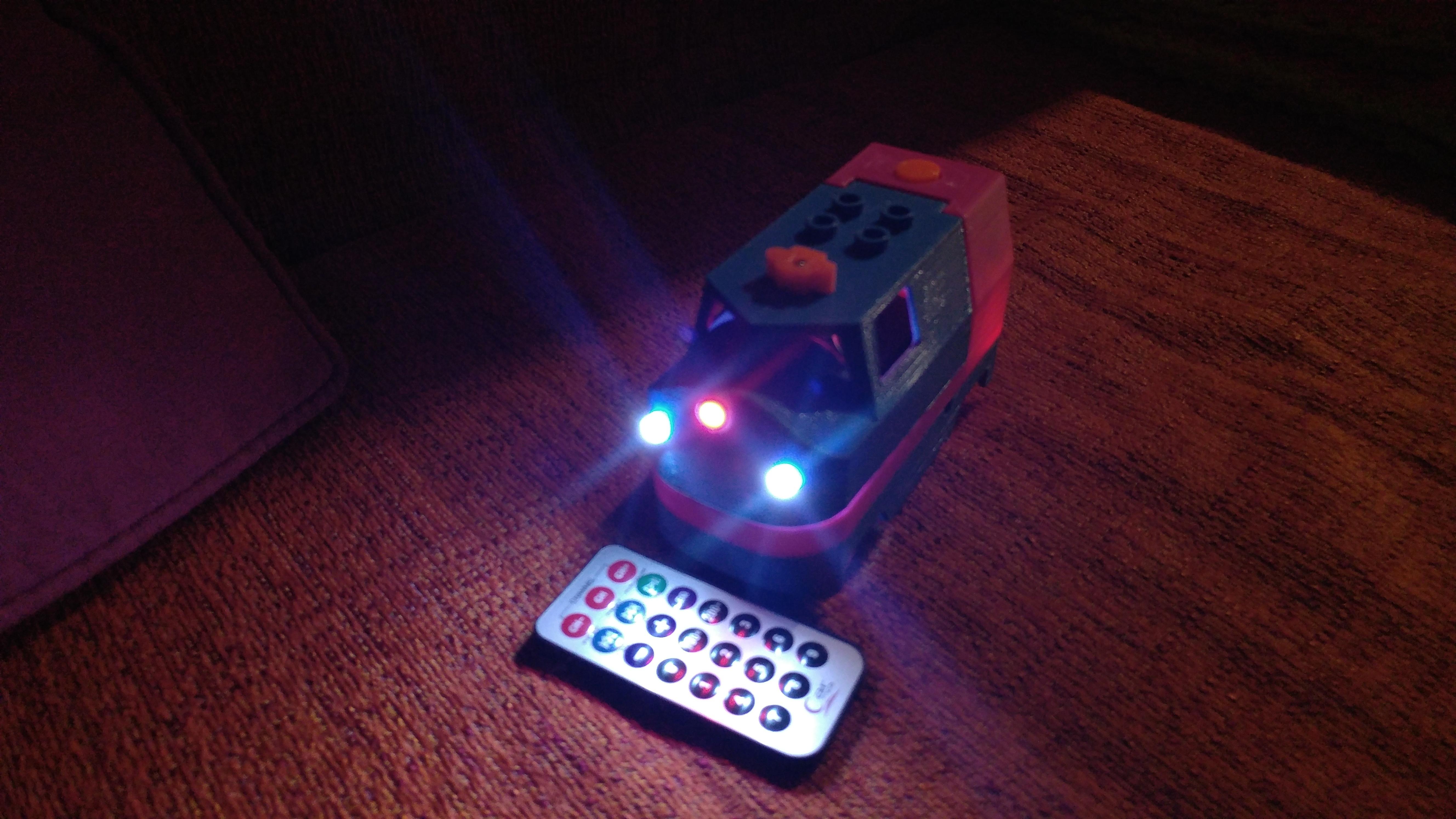 20181222_211458.jpg Télécharger fichier STL gratuit Tren Lego Duplo Motorizado controlado por Infrarojos • Objet à imprimer en 3D, celtarra12