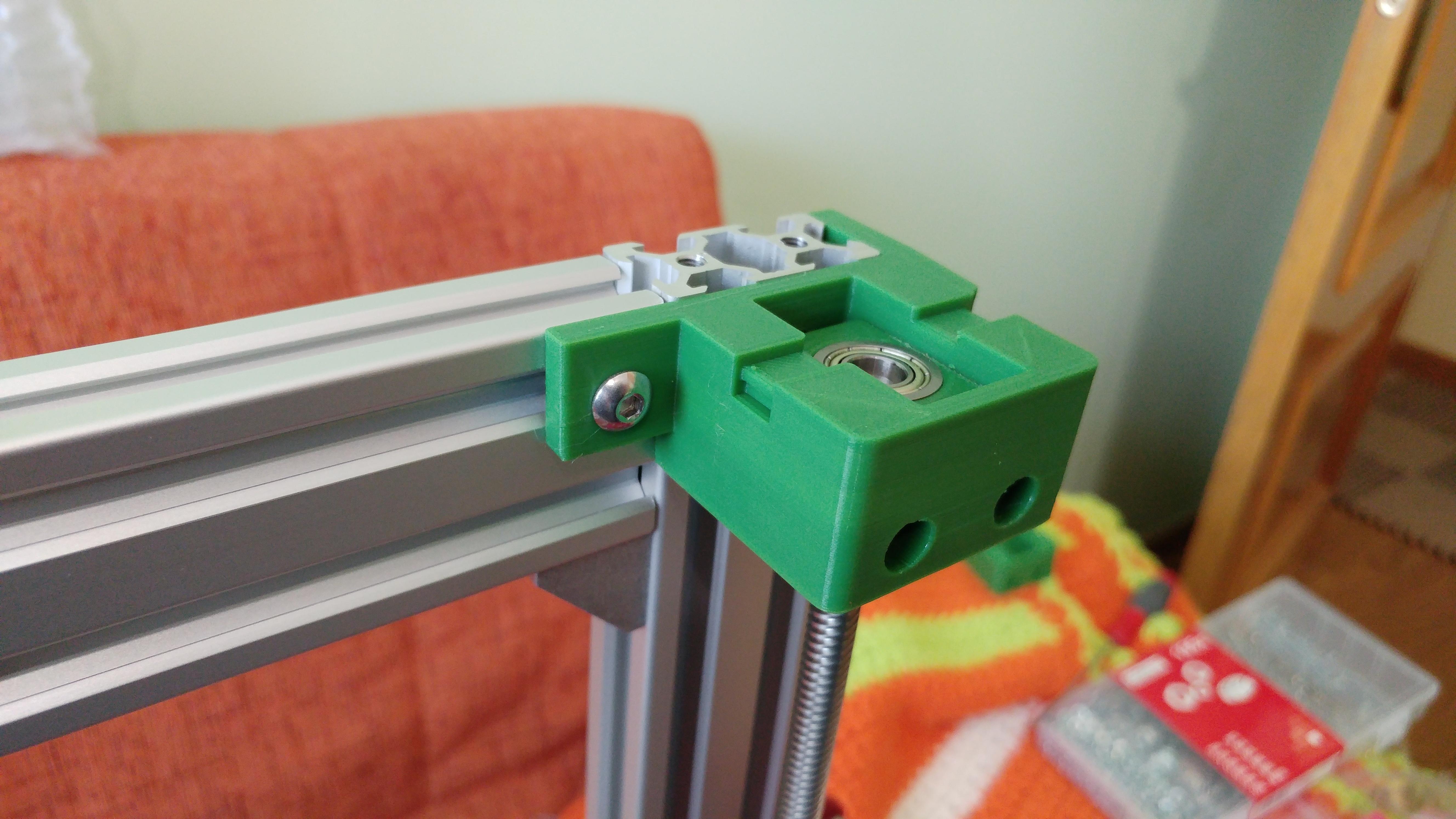 20190629_151600.jpg Télécharger fichier STL gratuit Parte Superior Husillo eje Z con muelle para perfil de aluminio 2040 • Plan imprimable en 3D, celtarra12