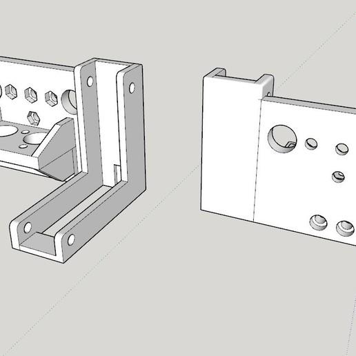 Soporte_Hotend_y_ventilador_de_capa.jpg Télécharger fichier STL gratuit Soporte Hotend Chimera & Cyclops y 2 ventiladores de capa eje X Perfil aluminio 2020 // Soporte BMG + Hotend V6 • Objet pour impression 3D, celtarra12