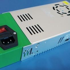 Télécharger fichier imprimante 3D gratuit Carcasa Fuente de Alimentación con interruptor de encendido, celtarra12