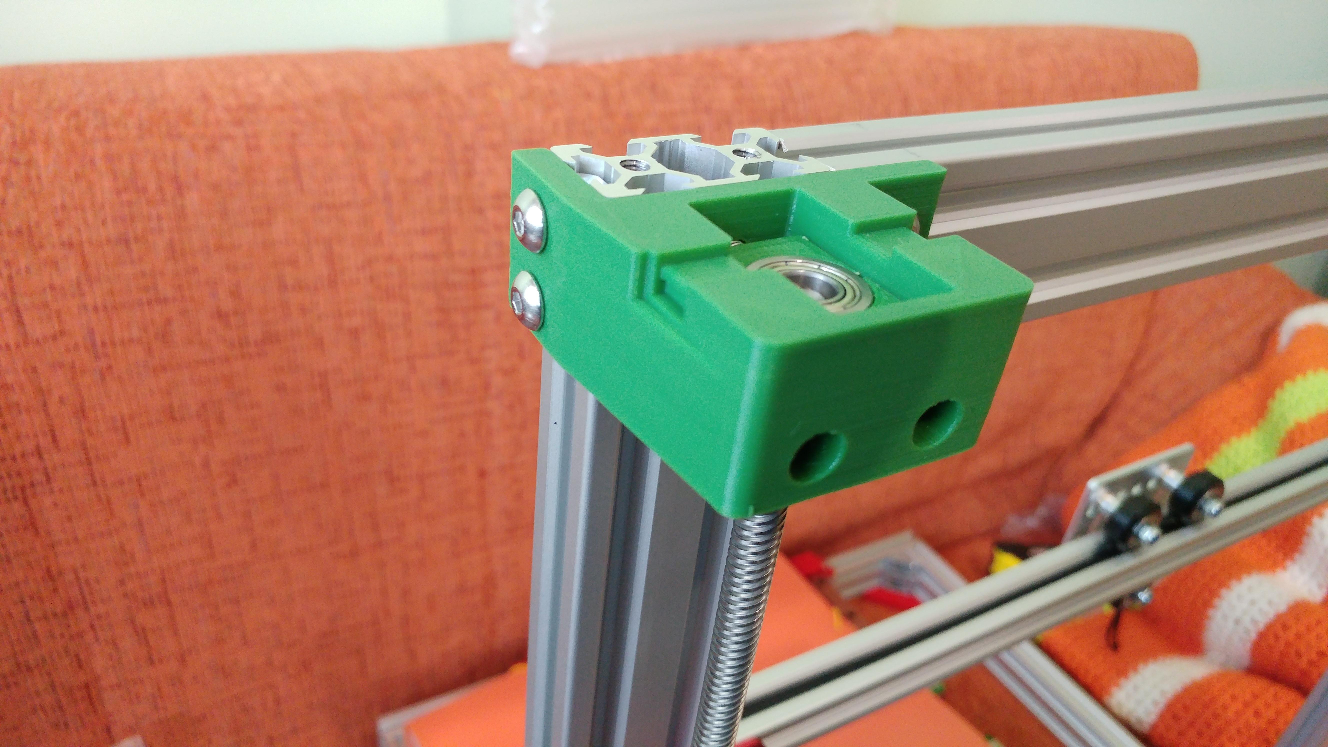 20190629_152234.jpg Télécharger fichier STL gratuit Parte Superior Husillo eje Z con muelle para perfil de aluminio 2040 • Plan imprimable en 3D, celtarra12
