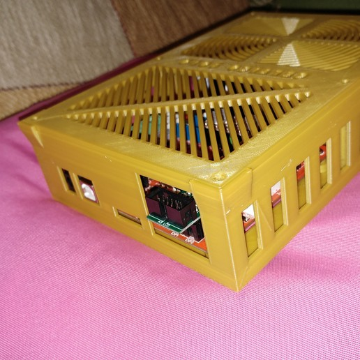 20190319_013405.jpg Télécharger fichier STL gratuit Caja placa Zonestar ZRIB para Anet A8 / AM8 (Extrusor Dual multicolor) • Design pour impression 3D, celtarra12
