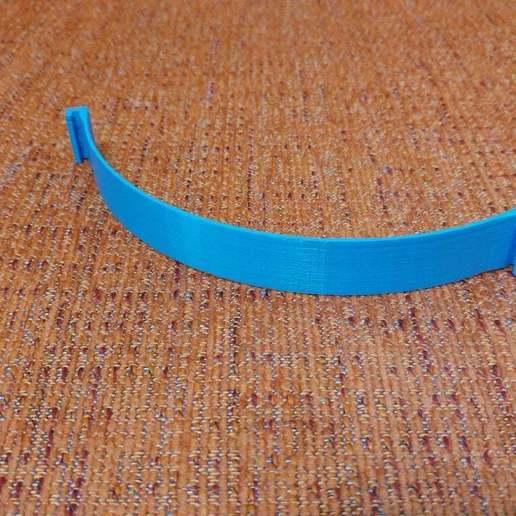 20200613_154633_HDR.jpg Télécharger fichier STL gratuit Porte-masque simple et double courbe + Boucle d'oreille (pour sauver les oreilles) • Objet pour imprimante 3D, celtarra12