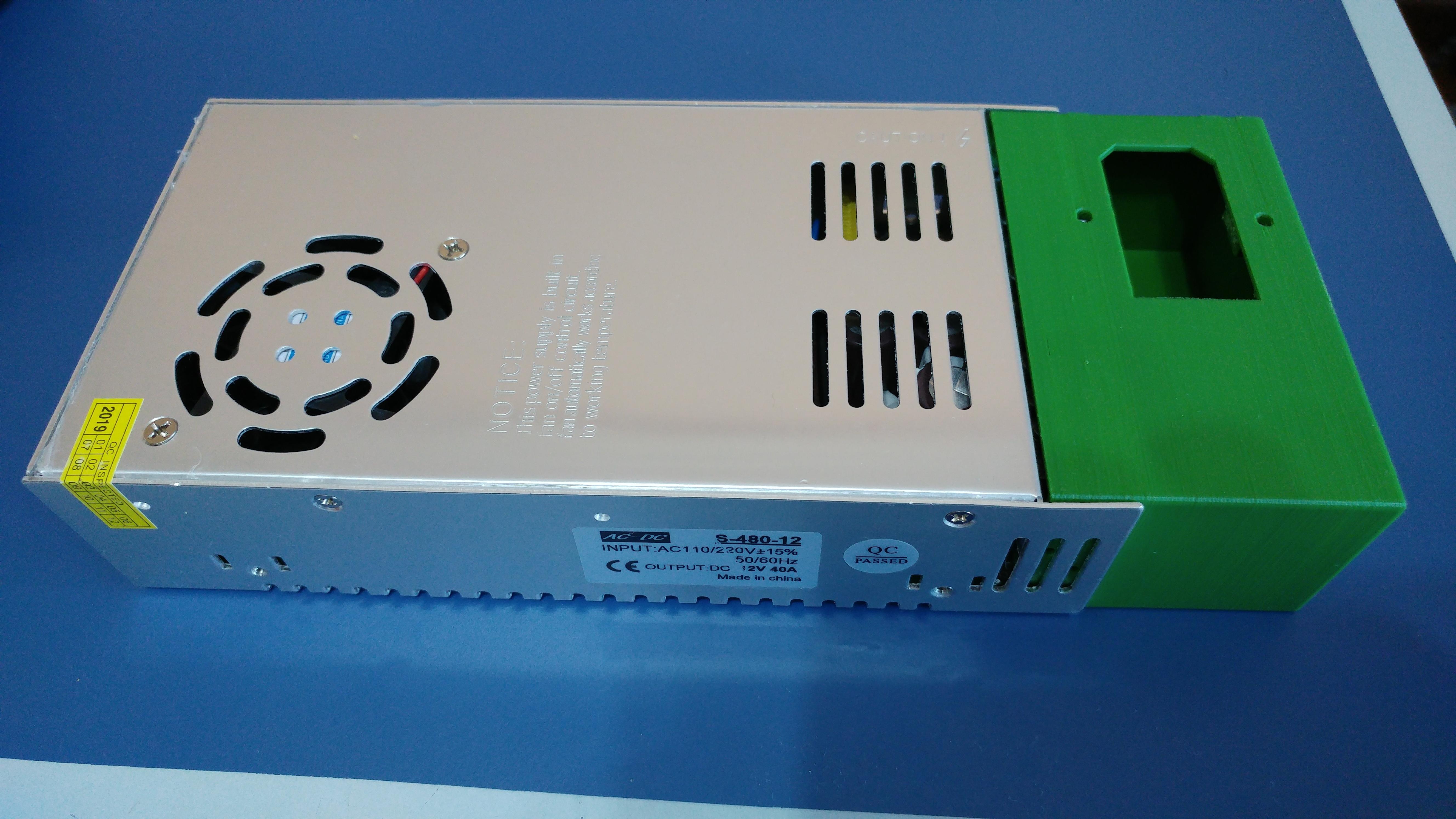 20190816_123313.jpg Télécharger fichier STL gratuit Carcasa Fuente de Alimentación con interruptor de encendido • Plan pour imprimante 3D, celtarra12