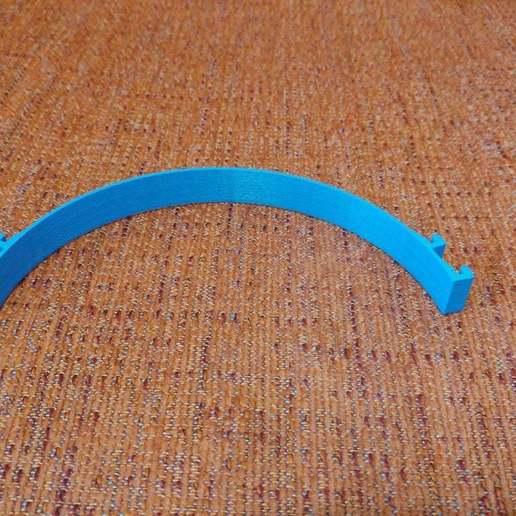 20200613_154518_HDR.jpg Télécharger fichier STL gratuit Porte-masque simple et double courbe + Boucle d'oreille (pour sauver les oreilles) • Objet pour imprimante 3D, celtarra12