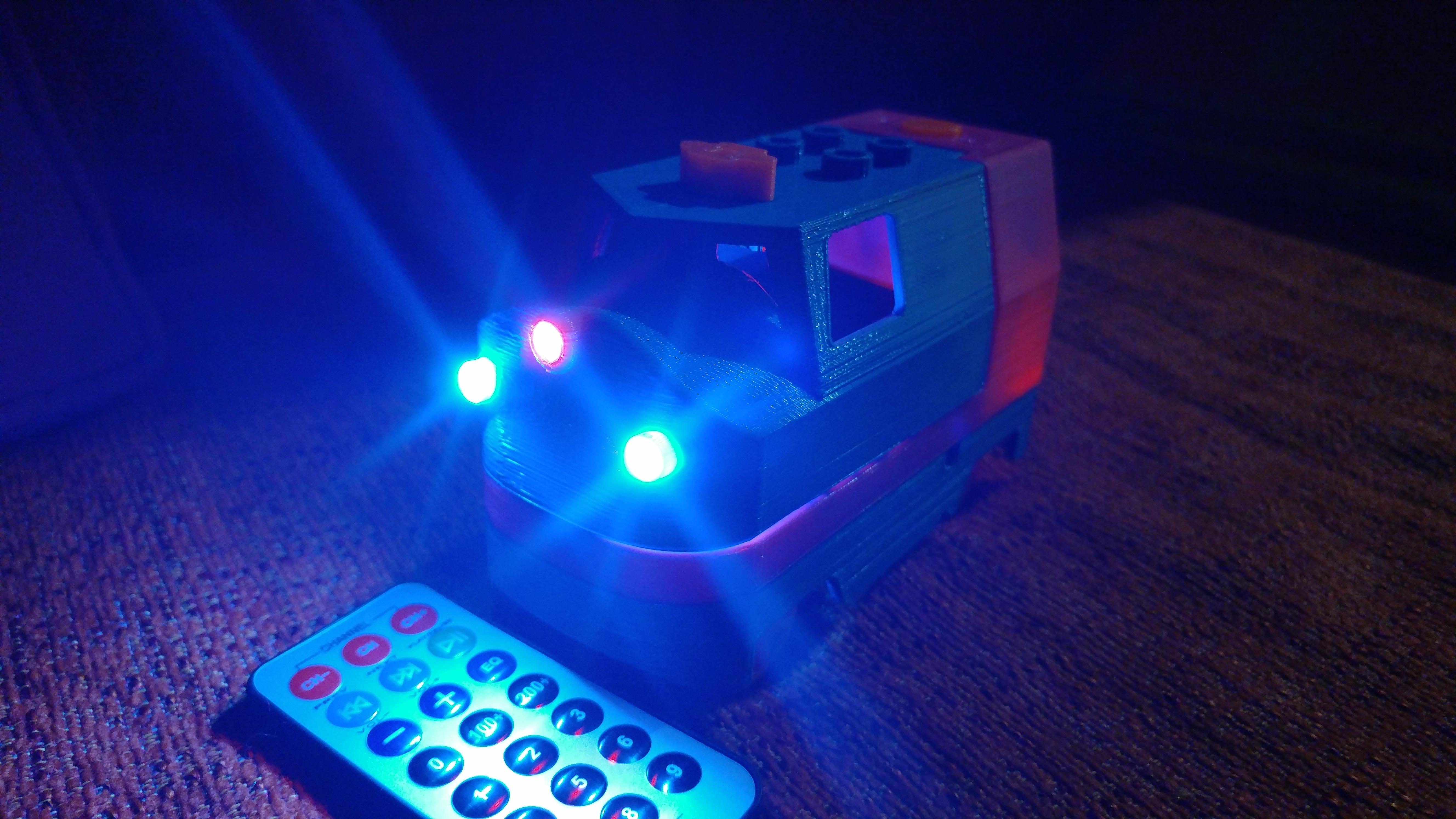 20181222_211358.jpg Télécharger fichier STL gratuit Tren Lego Duplo Motorizado controlado por Infrarojos • Objet à imprimer en 3D, celtarra12