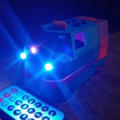 Download free 3D printing designs Tren Lego Duplo Motorizado controlado por Infrarojos, celtarra12