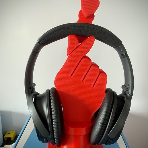 Download free STL file K Pop Headphone Stand • 3D printable design, CheesmondN