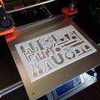 Download free STL file Chemistry Stencil • 3D printer design, nunlanca
